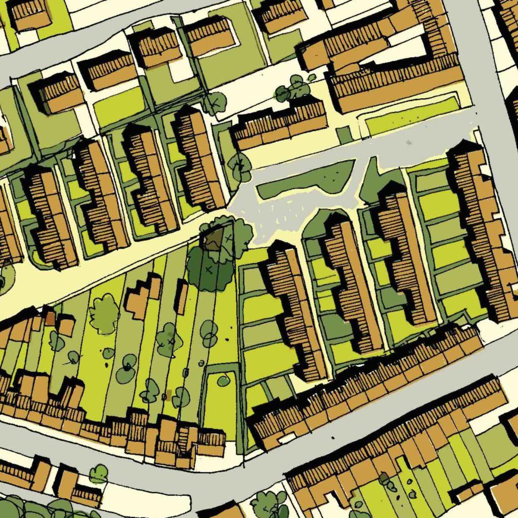 Etude urbaine Outreau (62)